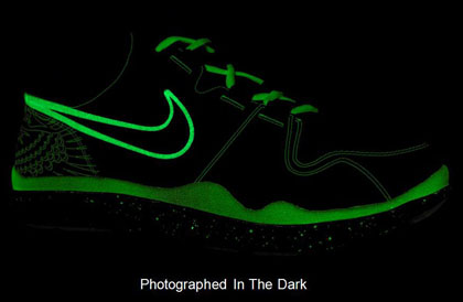 Nike Shoes Glow In The Dark For Sale