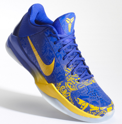 Kobe Bryant Shoes Purple And Blue