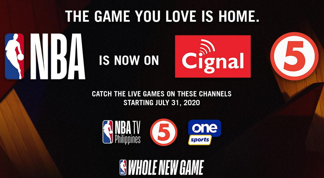 PR: Cignal TV Acquires Philippine Broadcast Rights for the NBA